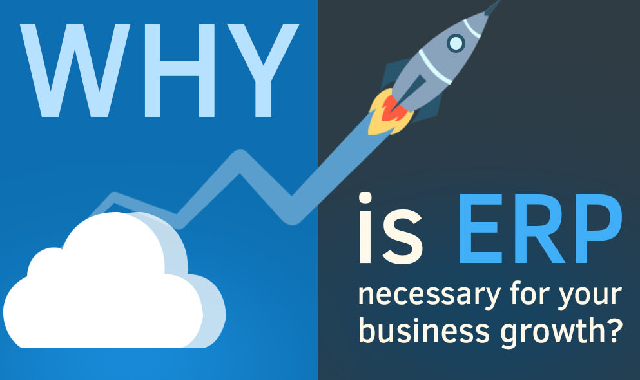 Why is ERP Necessary For Your Business Growth? #infographic