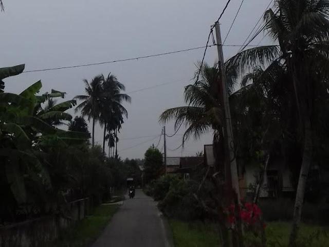 Sempat Turun Hujan, Kabut Asap di Duri Riau Menipis