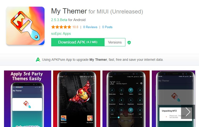 Themes Apps Download