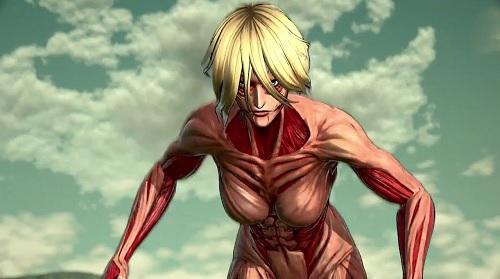 The Female Titan in Attack on Titan