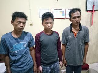 3 Pelaku Pemilik Shabu Diringkus Polisi di Sebuah Pondok