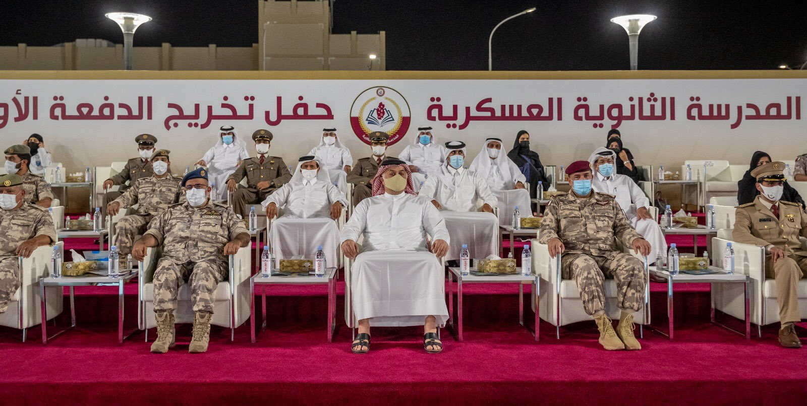 حفل تخرج الدفعه الأولى الجيش القطري