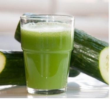 Cucumber juice is an Amazing Natural Ingredient for Removing Makeup