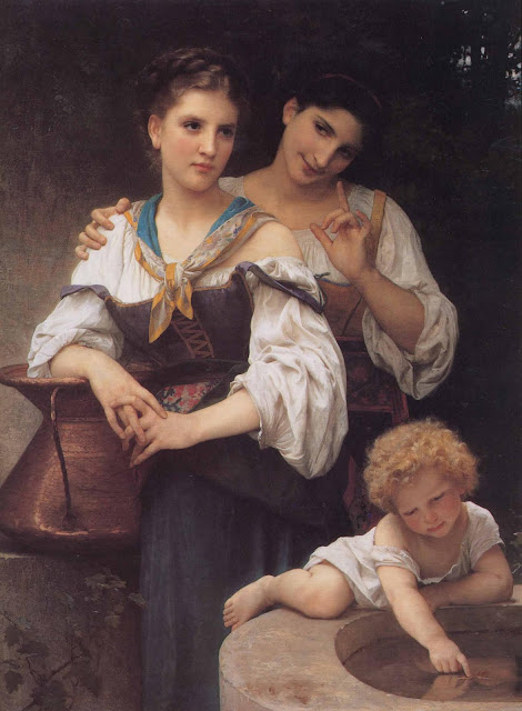 Адольф Вильям Бугро - Тайна (1876)