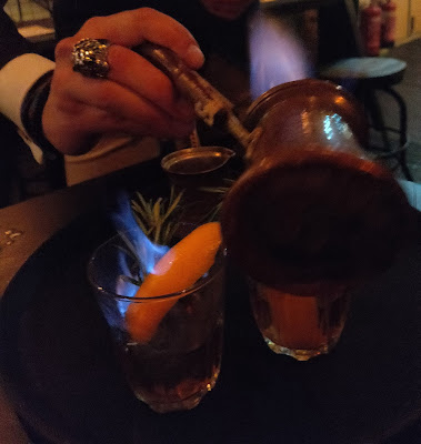 cocktails at Iron Bloom, Shoreditch