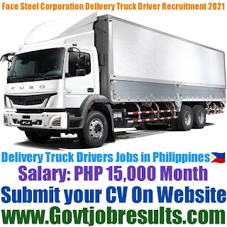 Face Steel International Corporation Delivery Truck Driver Recruitment 2021-22