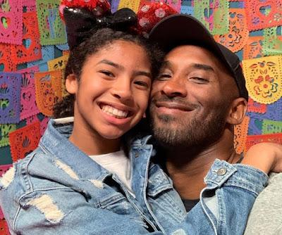 Kobe Bryant e a filha Gianna morreram em um acidente de helicóptero. Crédito: Reprodução/@KobeBryant