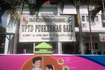 Puskesmas Sail Jalan Hang Jebet No 15 Telp (0761) 21640