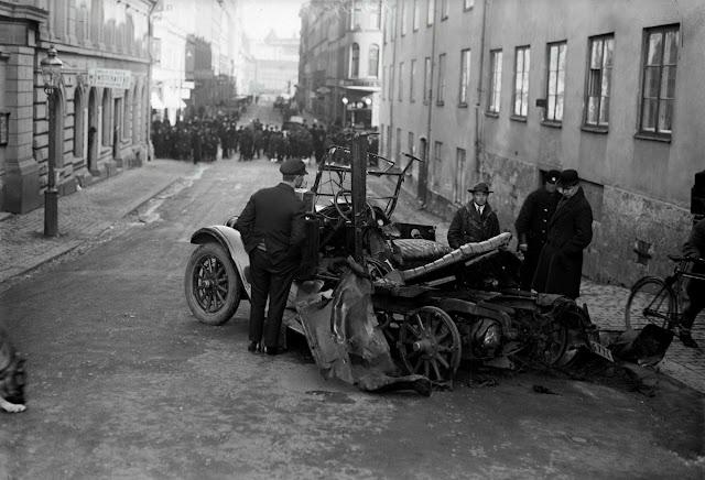 El primer atentado con coche bomba de Suecia (1926)