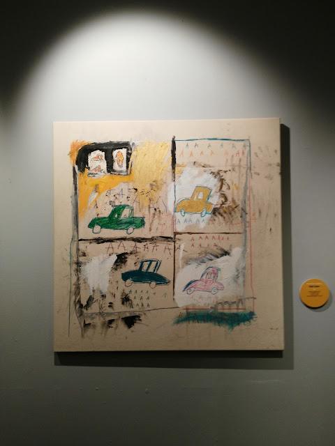 Mostra di Basquiat-Chiostro del Bramante-Roma