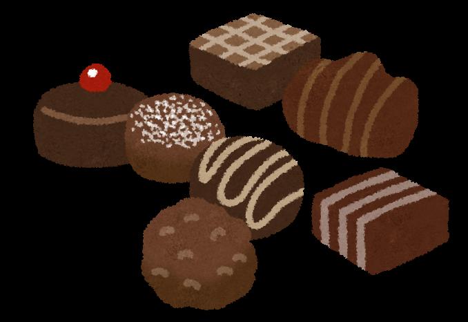 「チョコイラスト」の画像検索結果