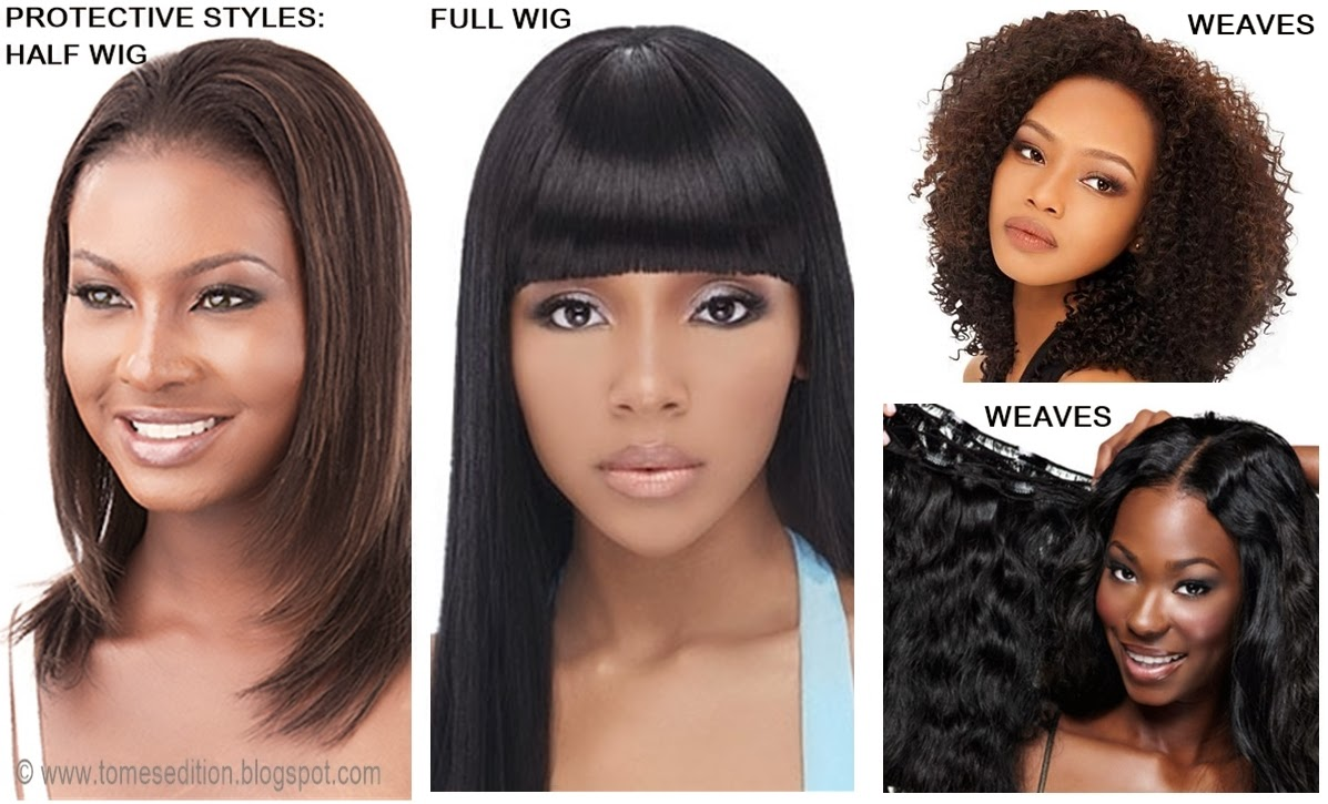 Fabulous Tomes Edition Protective Hairstyles For Relaxed Texlaxed Hairstyles For Women Draintrainus