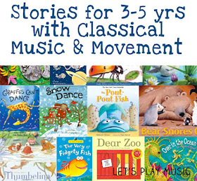Stories for 3-5 yo with Classical Music & Movement