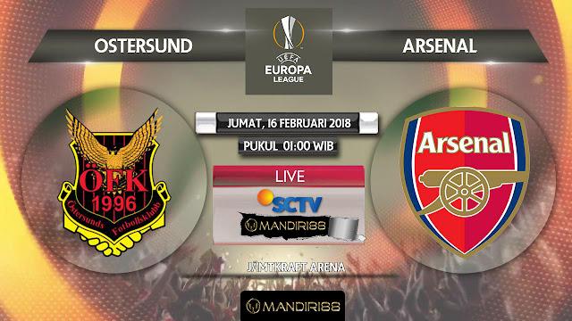 Ostersunds FK Vs Arsenal