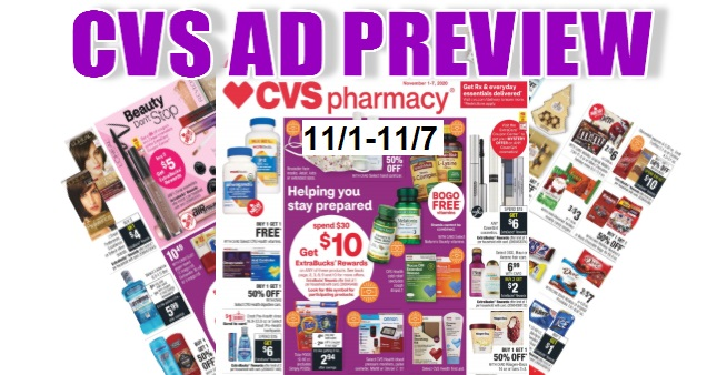 CVS Ad Scan 11-1 to 11-7