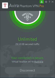 Cara Akses Website Tanpa Blokir via Avira Phantom VPN Pro