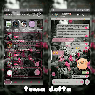Butterfly Theme For YOWhatsApp & Delta WhatsApp By Ale