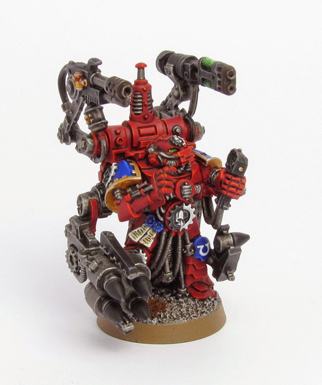 When I Built The Techmarine Managed To Snap Some Of Delicate Resin Parts Annoying Did My Best Repair Them But It Wasnt Always Possible