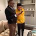 Billionaire Femi Otedola celebrates only son on his birthday today.