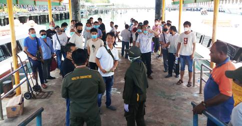 Di Tengah Maraknya Wabah Corona, 39 WNA Asal Tiongkok Masuk ke PT BAI Bintan