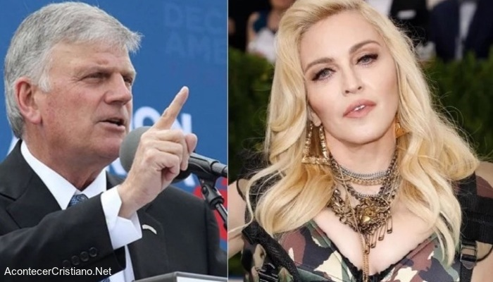 Franklin Graham y Madonna