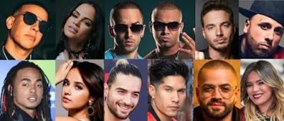 Letras y videos de reggaeton
