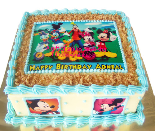 Birthday Cake Edible Image Mickey Mouse Clubhouse