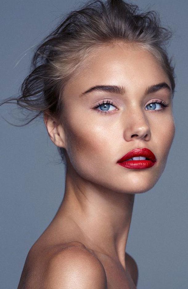 Come applicare perfettamente il rossetto rosso in 5 mosse, rossetto rosso, how to, segreti, natale