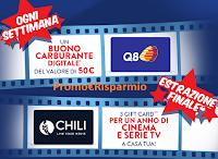 Logo Eroi di Casa 2020 ''Pulito spettacolare 2'' : vinci buoni carburante da 50€ e 1 anno di Cinema