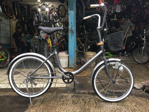 Sepeda Minion Unik Harga Menarik