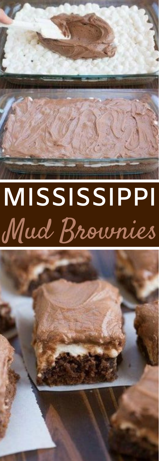 Mississippi Mud Brownies #desserts #brownies #cake #baking #recipes