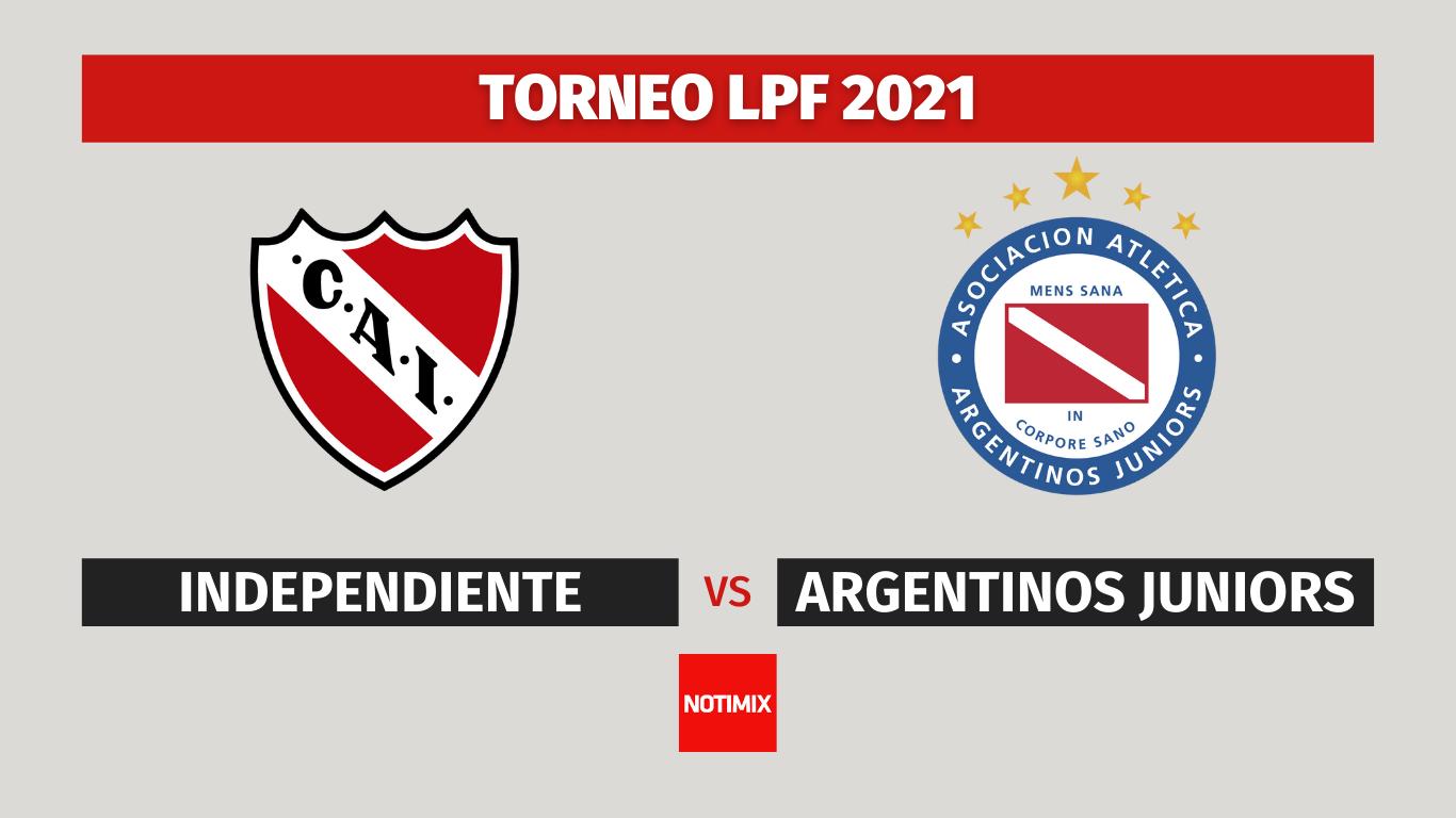 Ver Independiente vs Argentinos Juniors en vivo online