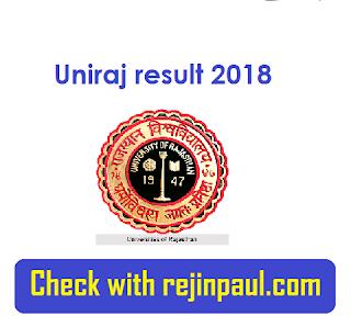 Uniraj result 2018
