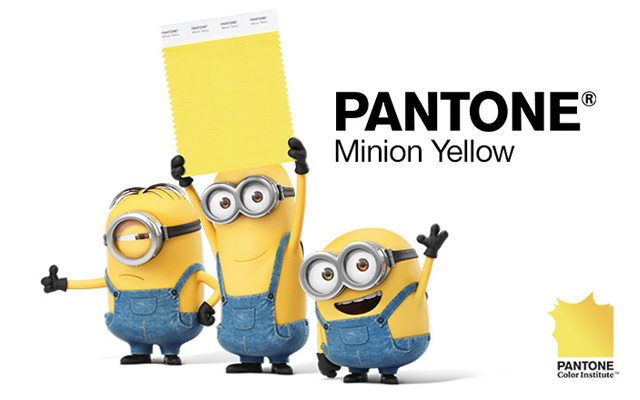 mantone minios - Pantone, as cores e as tendencias