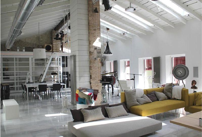 open space appartamento LAGO Alicante