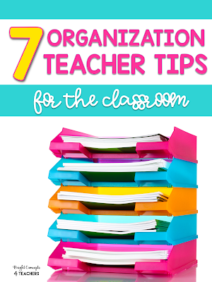 back to school teacher organization tips