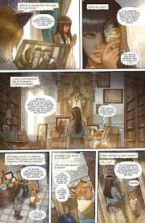 "Cómic: Reseña de ""Monstress #1: Despertar"" y ""Monstress #2: La sangre"" de Marjorie Liu y Sana Takeda - Norma Editorial"