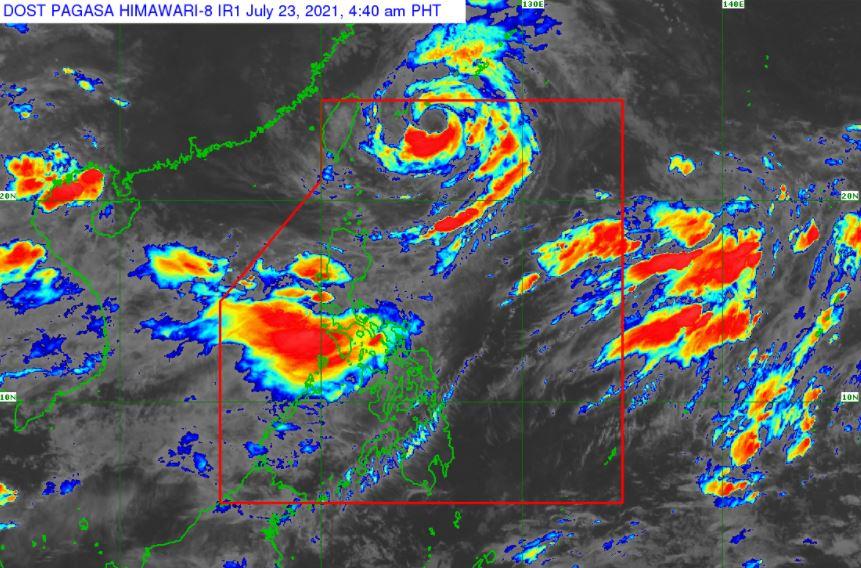 'Bagyong Fabian' PAGASA satellite image