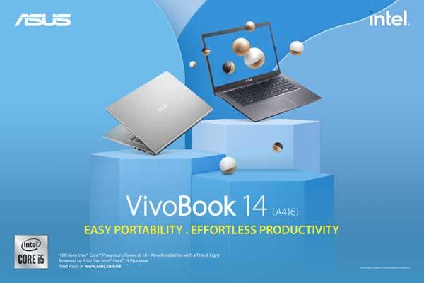Prosesor Laptop ASUS VivoBook 14 A416