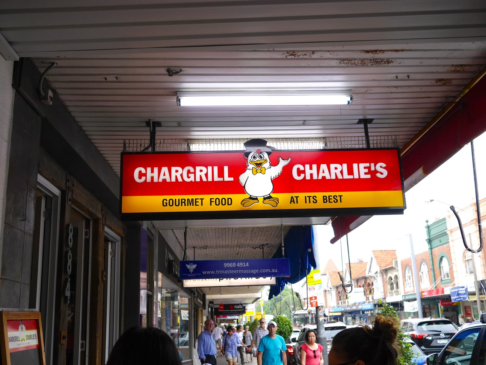 Lunch at Chargrill Charlie's, Sydney - PrettyHungry