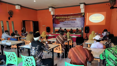 Polsek Pituruh, Gelar Pertemuan Kemitraan Lintas Sektoral Tahun 2021