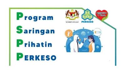 Permohonan Program Saringan Prihatin PERKESO 2020 Online (PSP)