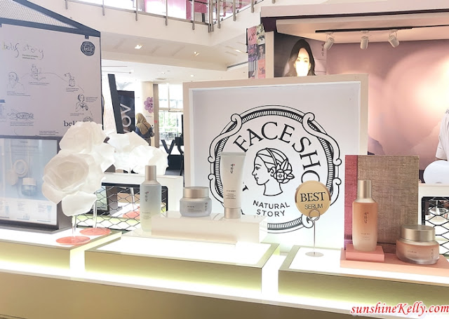 THE FACE SHOP, belif, VDIVOV Pop-Up Store, Setia City Mall, korean cosmetics, Beauty
