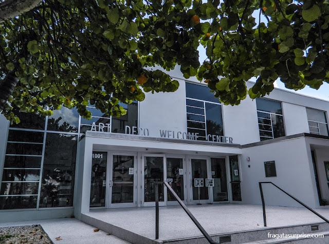 Centro de visitantes do Distrito Art Déco em South Beach, Miami Beach