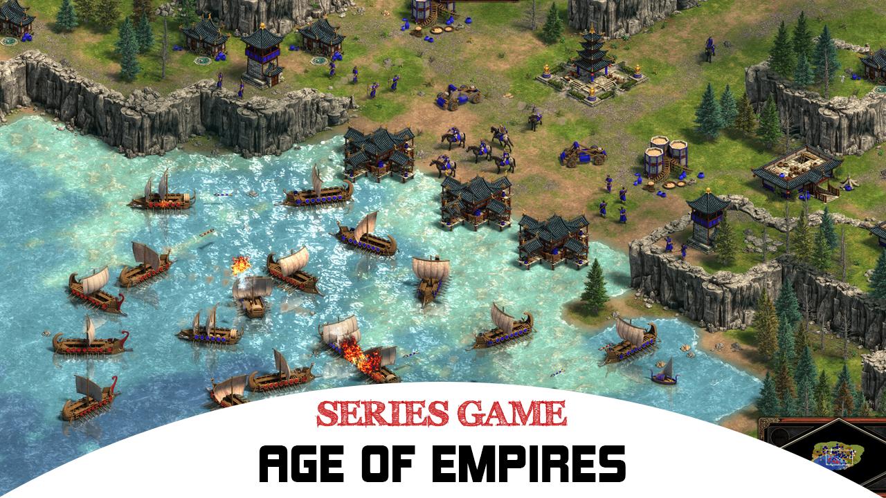 Danh sách Series Game Age of Empires bao gồm đầy đủ các phiên bản được phát hành trên máy tính