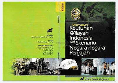 Buklet Selamatkan Keutuhan Wilayah Indonesia dari Skenario Negara-Negara Penjajah