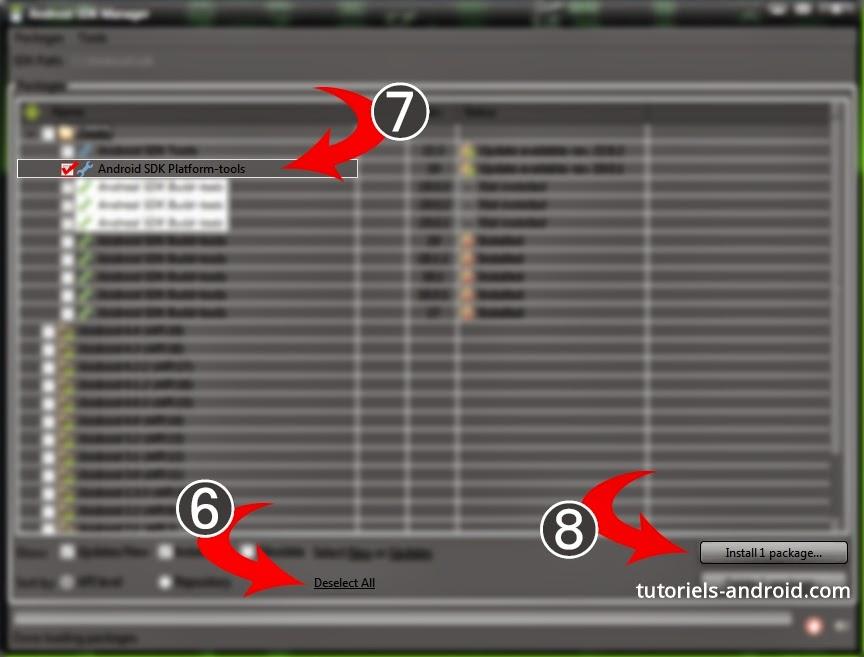 Download SDK Tools