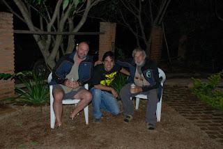 Da esquerda para a direita: Danny Mackerle, Ataide Ferreira e Ivan Mackerle