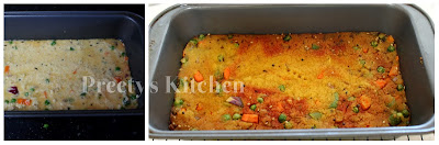 Preety S Kitchen Savory Vegan Semolina Cake Step By