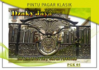 Model pintu, gerbang, pagar, besi, tempa, klasik, mewah 05
